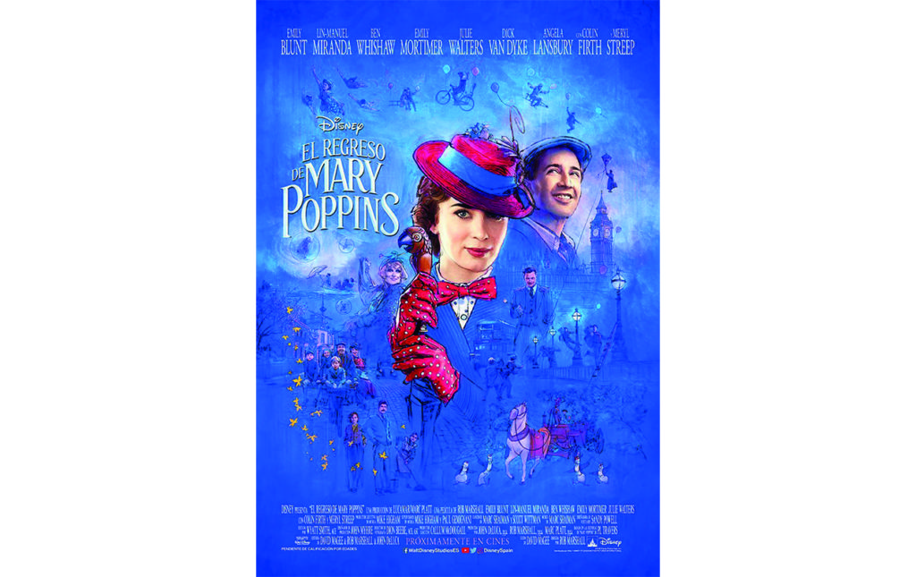 Trending now - El Regreso de Mary Poppins