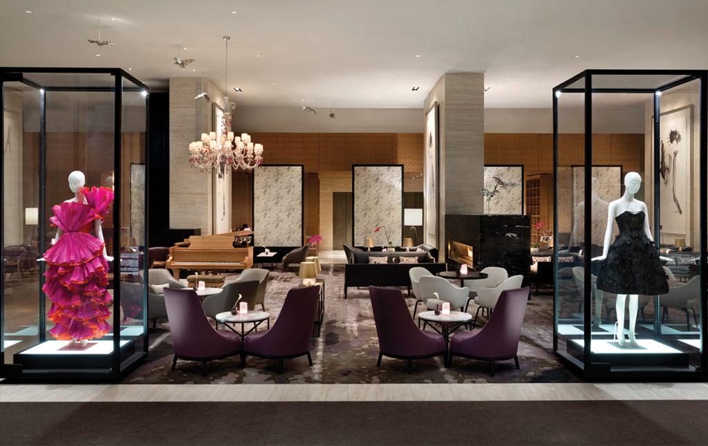 Hotel Shangri-La Toronto, un lujo asiático en Canadá - Lobby Lounge y Moda Shangrila Toronto
