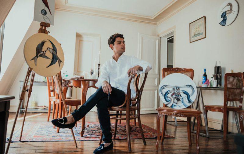 Esteban Fuentes de María, pintor por naturaleza - artista-esteban-cuadros-arte-pajaros