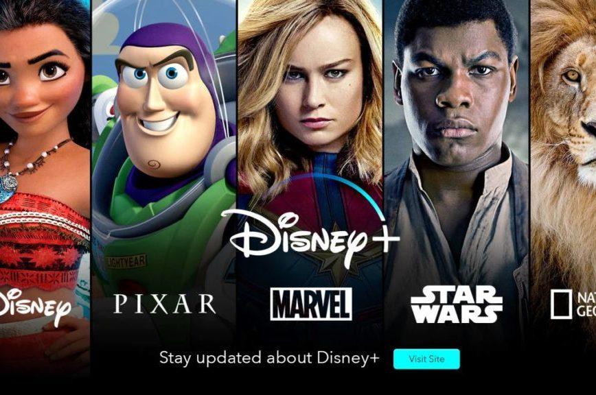 Disney+, la nueva plataforma de streaming - Disney Plus portada