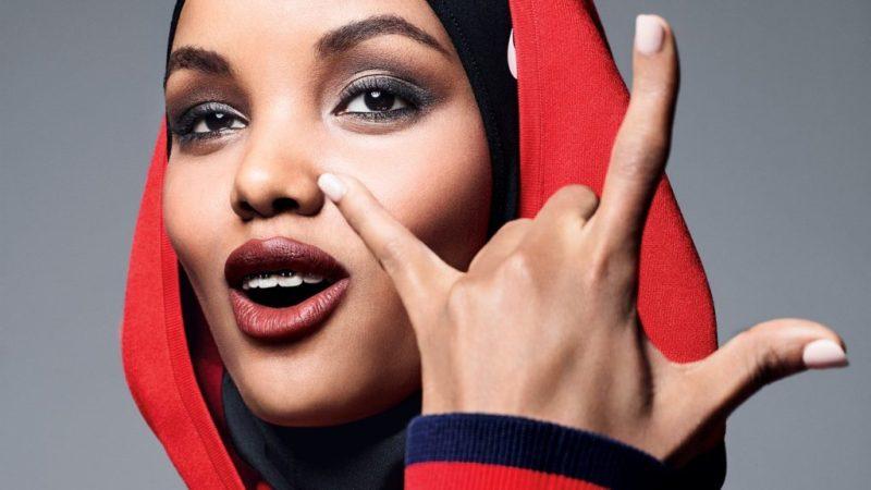 La primera modelo en aparecer en hiyab y burkini en Sports Illustrated - halimaaden_rock_roll