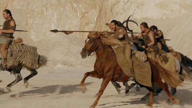 Los momentos clave del último episodio de Game of Thrones - hotbook-los-momentos-clave-del-ultimo-episodio-de-game-of-thrones_dothraki