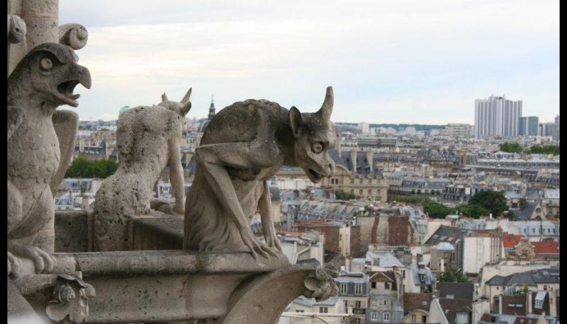 Datos históricos de la Catedral de Notre Dame - imagen-que-contiene-cielo-edificio-exterior-mir