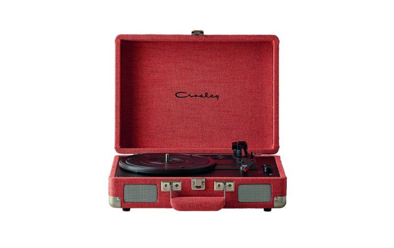 Home wishlist: nuestros accesorios favoritos para el hogar - urban-outfitters-coral-record-player