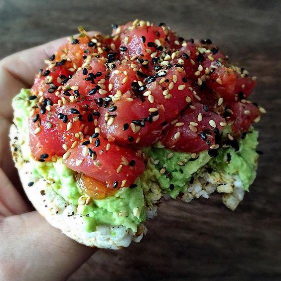 Recetas súper fáciles y deliciosas para todo el día - 6-rice-cake-y-atun