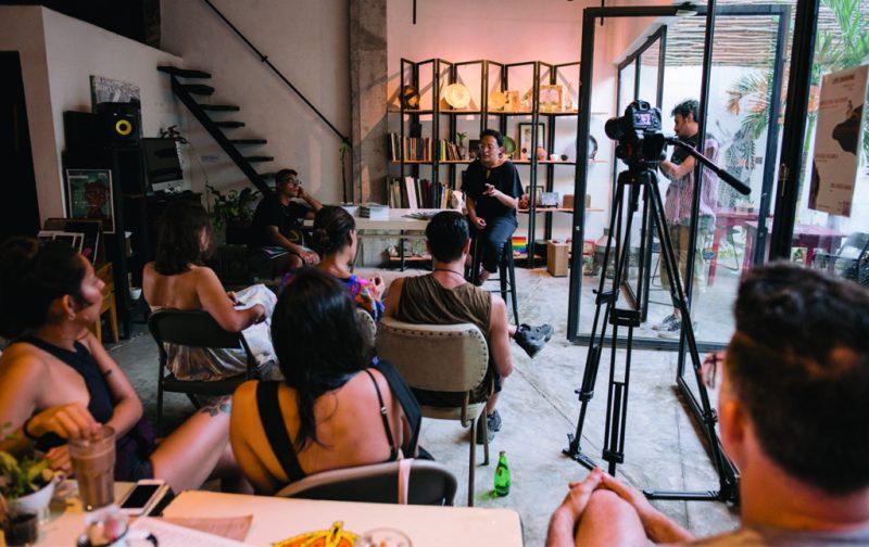 Aki Aora: intercambio cultural entre artistas y comunidades en Tulum - aki-aora-4