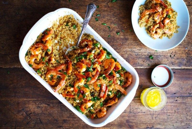 5 deliciosas recetas con quinoa - hotbook_recetasquinoa_camarones