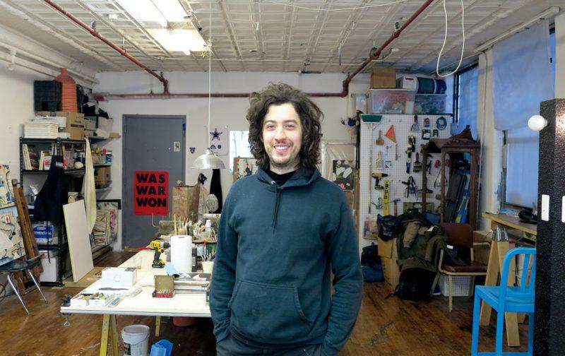 Josh Reames: libre de mensajes didácticos - josh-reames-artista-pintor
