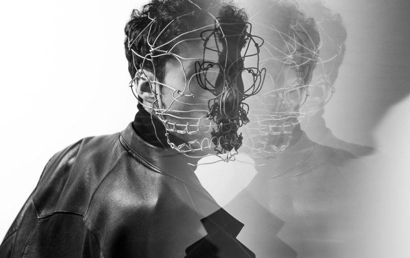 Máscaras de Alambre, un accidente creativo - mascara-fashion-alambres