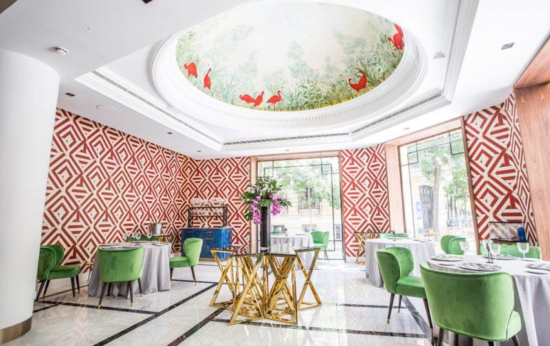 Coque: tradición familiar y gastrogenómica - salon-cupula-decoracion-interiores
