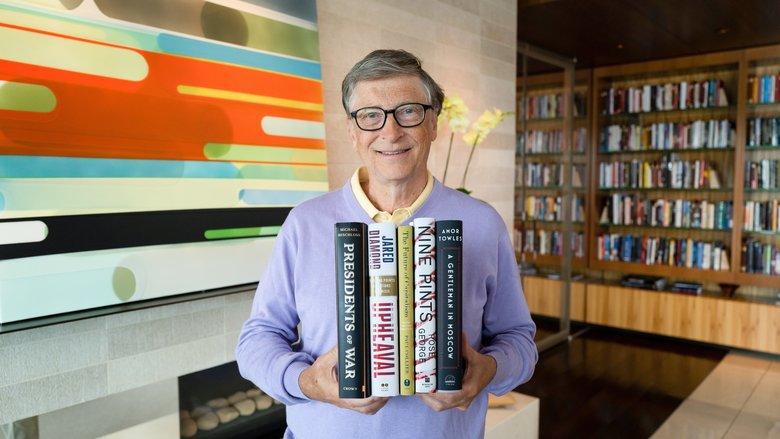 Los 5 libros que debes leer este verano según Bill Gates - Hotbook Los 5 libros que debes leer este verano según Bill Gates portada