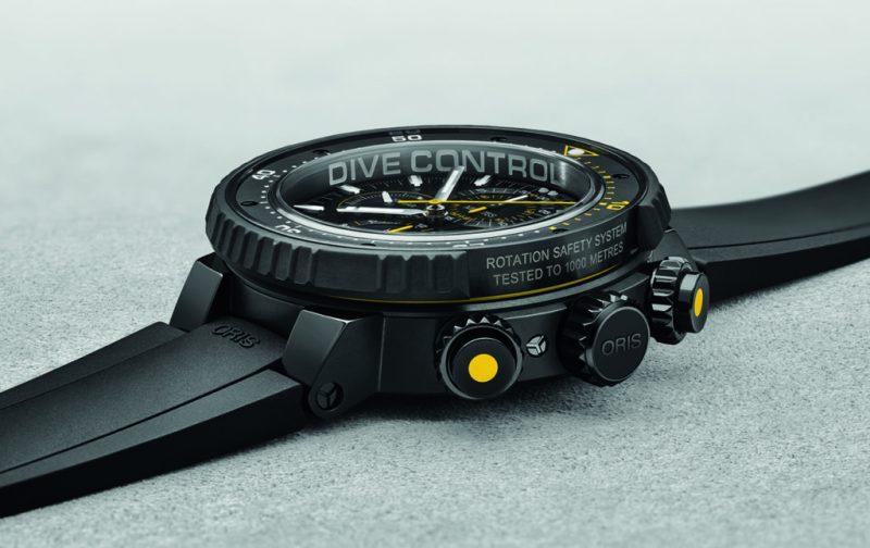 Oris Dive Control Limited Edition, un reloj para buzos profesionales - oris-drive-1