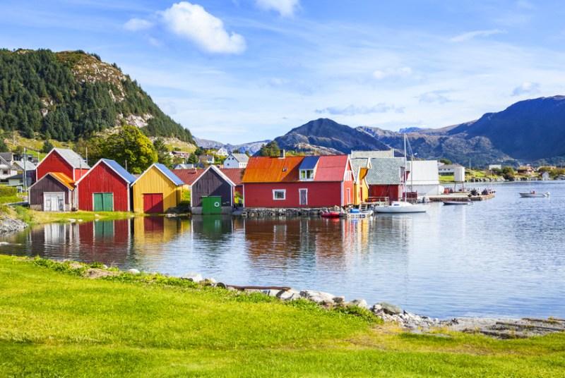 Los 8 países más felices del mundo en 2019 - paisesfelices_noruega