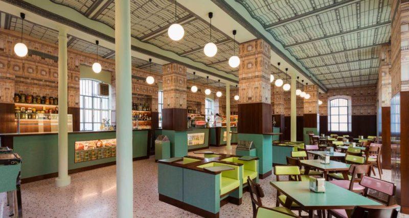 Bar Luce: un café diseñado por Wes Anderson en Milán - barluce