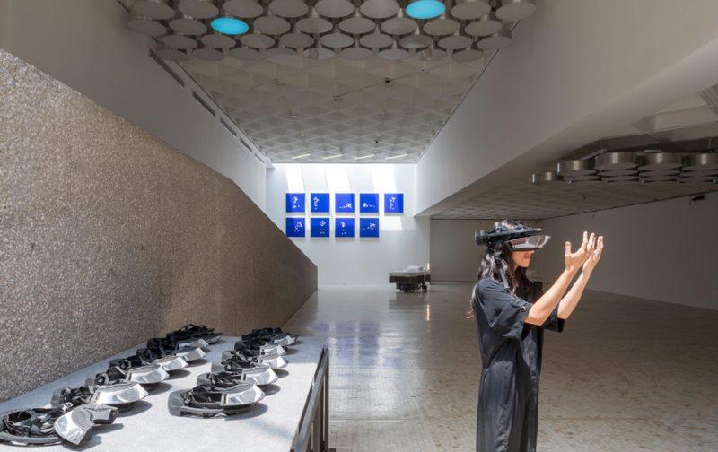 Sunday de Carsten Höller en el Museo Tamayo - hotbook_hotculture_hotart_carstenholler_tamayo_cuadros_lentes_distorsion_ramiro_chavez
