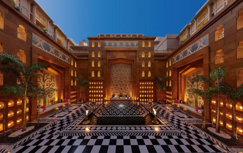 The Leela Palace - hotbook_hottravel_hotbooking_theleelapalace_innercourtyard