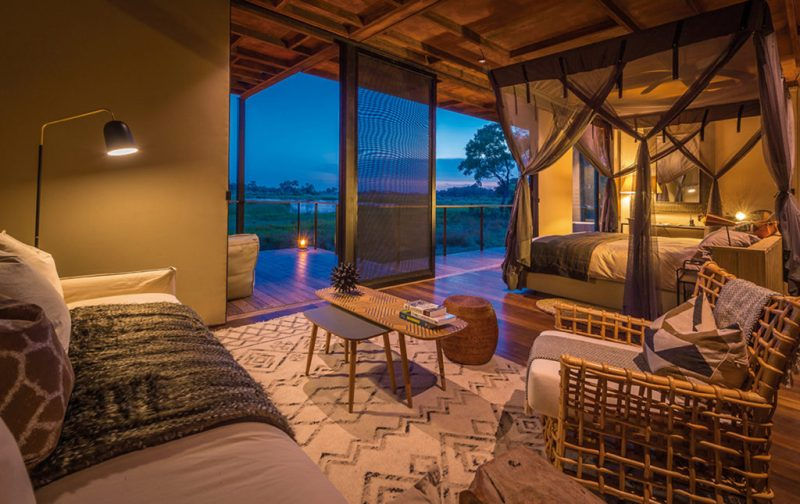 Qorokwe, un destino ideal para disfrutar en pareja - hotbook_hottravel_hothoneymoon_qorokwe_fogata_suite_noche