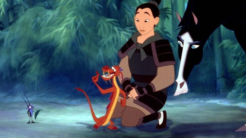 El primer tráiler oficial de la nueva película de Mulan - mushu