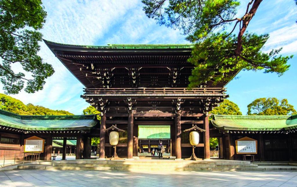 48 horas en Tokio - Meiji Shrine
