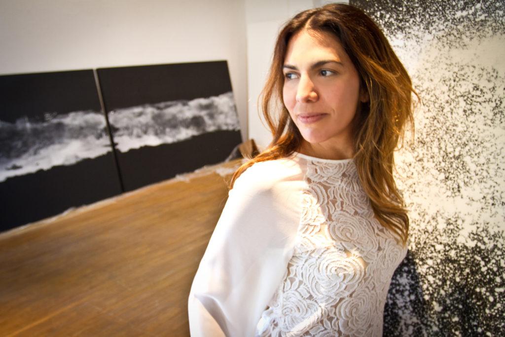 Brenda Franco y su impactante obra en Viena - brenda franco portada