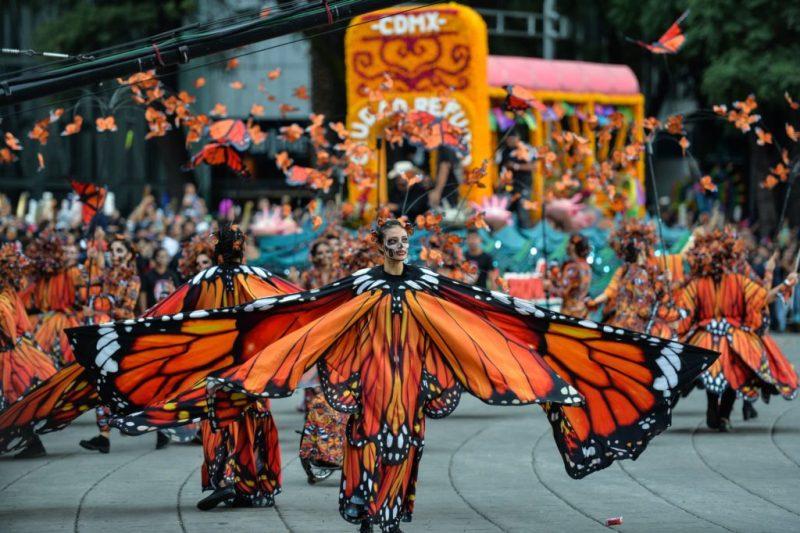 Los 9 eventos que no te puedes perder durante el mes de octubre en la CDMX - desfile-dia-de-muertos