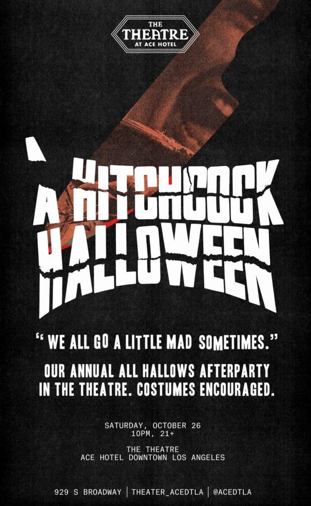 Eventos de Halloween en Los Ángeles - hitchcock-halloween