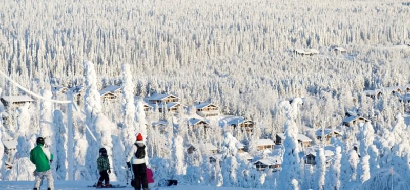 Destinos imperdibles para ir a esquiar - esquiar-finlandia