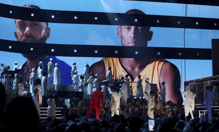 Tributos a Kobe Bryant, la leyenda de la NBA - kobe-bryant-grammys