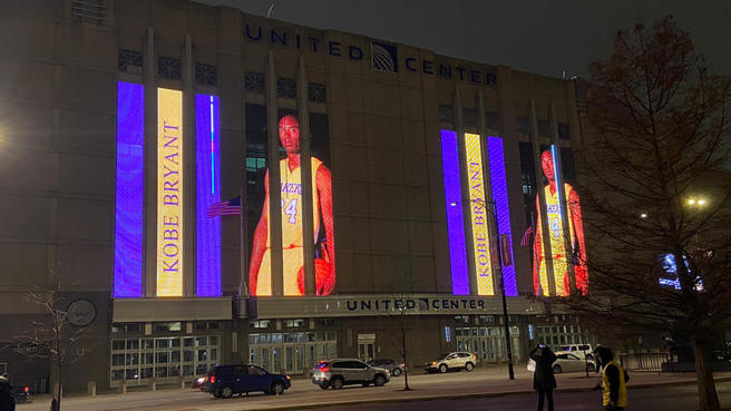 Tributos a Kobe Bryant, la leyenda de la NBA - kobe-bryant-united-center