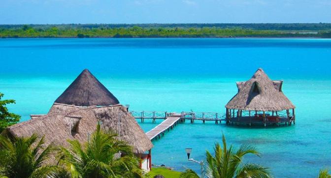 Lugares para visitar en México este 2020 - laguna-de-los-ciete-colores