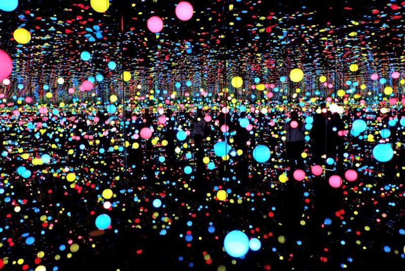 Infinity Rooms, la extraordinaria creación de Yayoi Kusama - yayoi-kusama-4