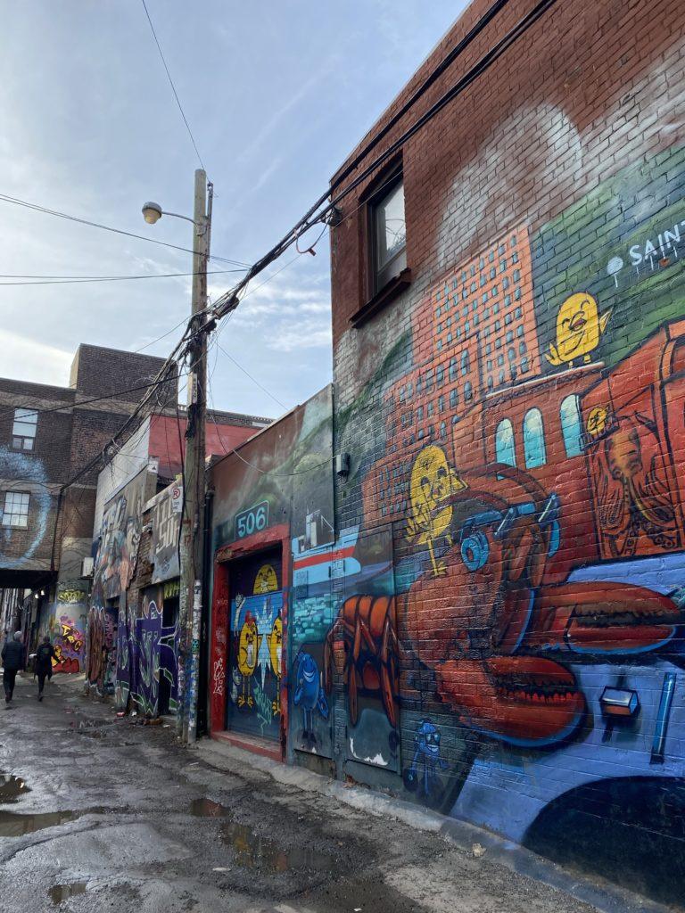 Qué hacer en Toronto - grafiti-alley-toronto