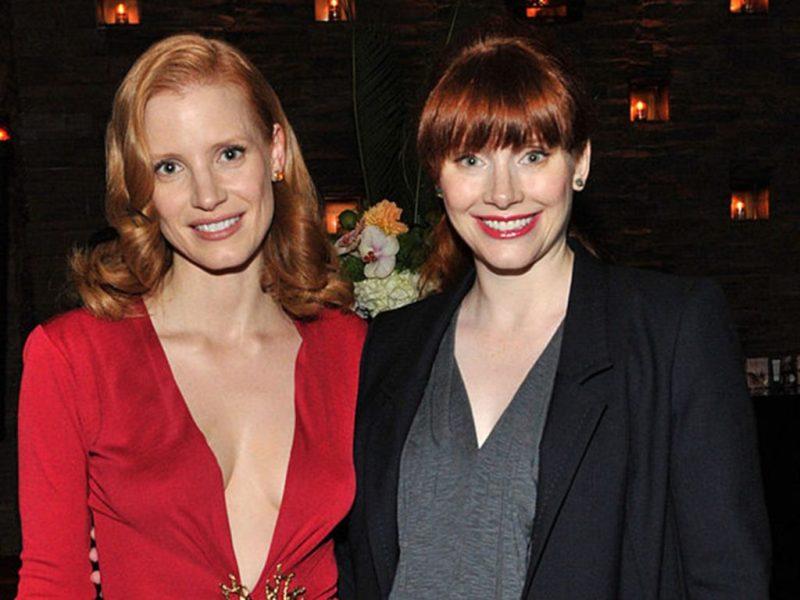 Celebridades que parecen gemelas - bryce-dallas-howard-y-jessica-chastain-celebridades-que-podrian-parecer-gemelos-coronavirus-cuarentena-covid-coronavirus-8