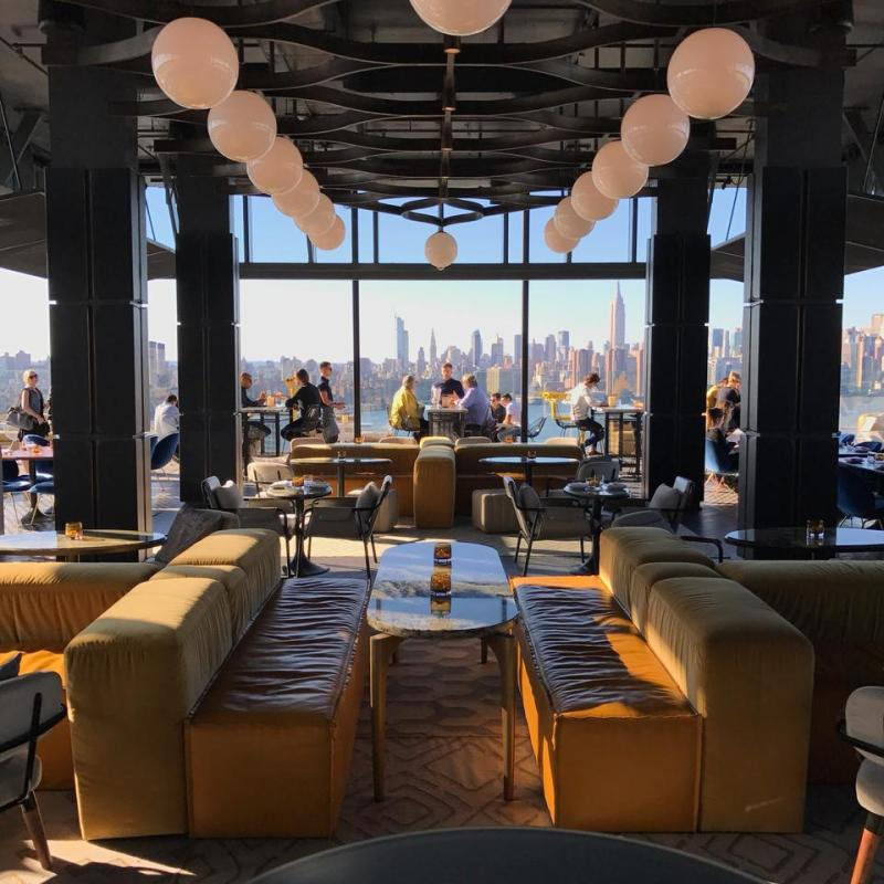 16 de los restaurantes más instagrameables del mundo - rooftop-hotel-williamvale