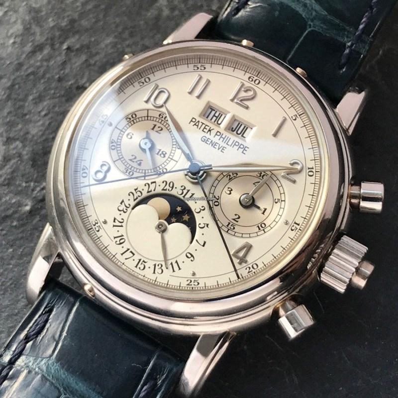 Los mejores relojes para regalar este Día del Padre según su personalidad - 2-dia-del-padre-patek-philippe-grand-complications-5004p