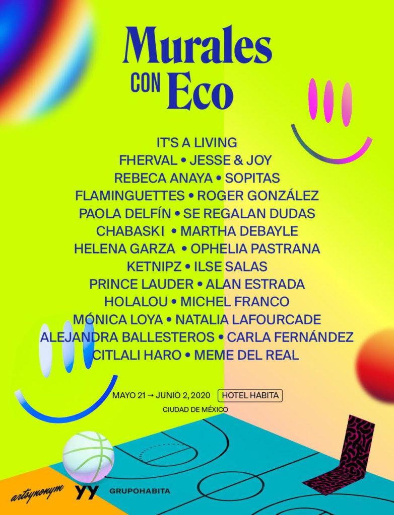 Murales con Eco, una iniciativa que combina arte y tecnología - murales-con-eco-una-iniciativa-que-une-el-arte-con-la-tecnologia-instagram-foto-zoom-online-coronavirus-covid-19-cuarentena-3