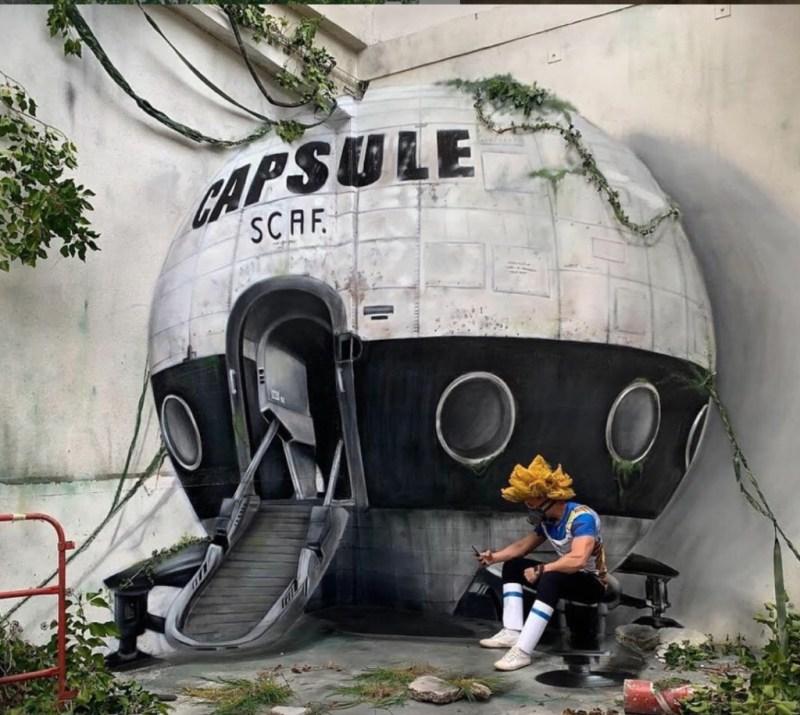 @scaf_oner y sus impactantes murales 3D - george-rousse-y-sus-impactantes-murales-3d-tercera-dimension-artista-google-viajes-verano-coronavirus-google-online-nueva-normalidad-restaurantes-4