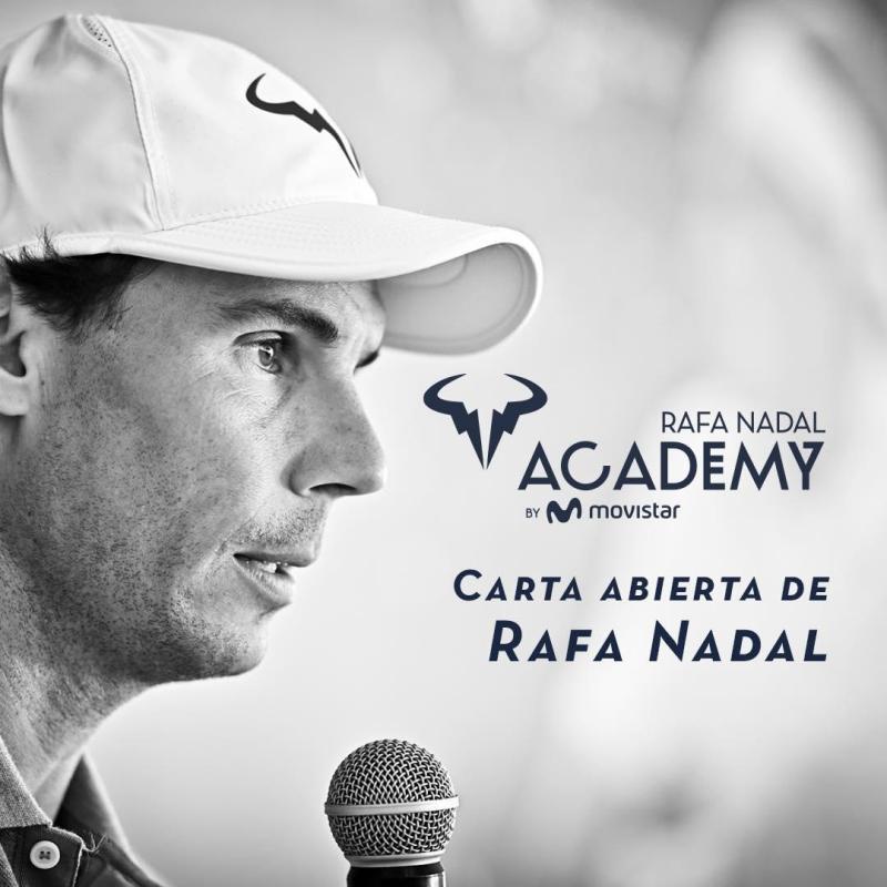 Todo lo que no sabías del tenista Rafael Nadal - rafa-nadal-academy-by-movistar-todo-lo-que-no-sabias-de-rafael-nadal