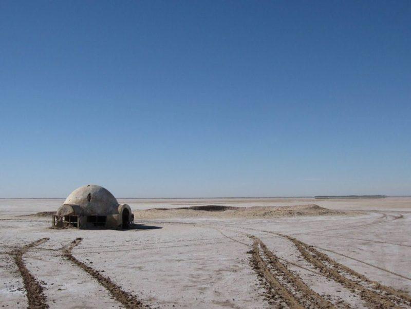 Locaciones de Star Wars dentro de nuestra galaxia - star-wars-locaciones-chott-el-djerid-tunez-lars
