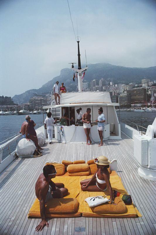 La época de oro de la Riviera Francesa - yacht-famous-french-riviera-trend-summer-vacation-beach