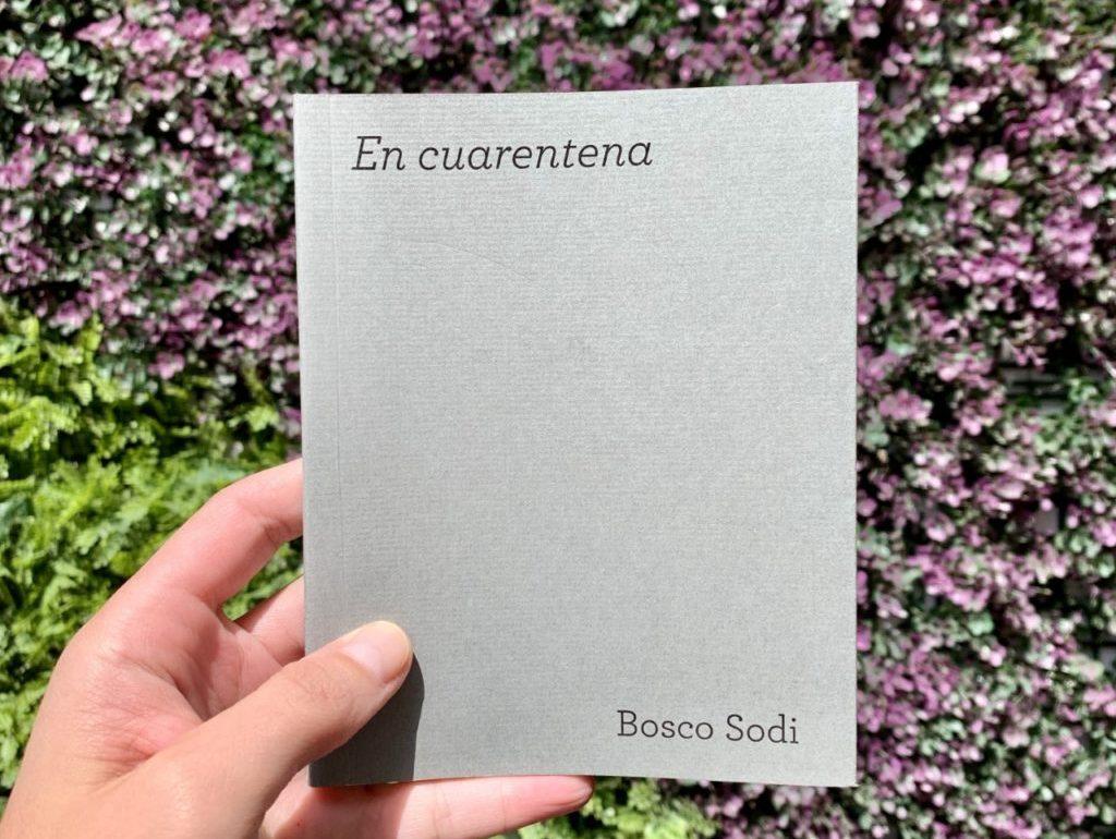 Bosco Sodi publica su primer libro: En cuarentena - portada bosco sodi nuevo libro