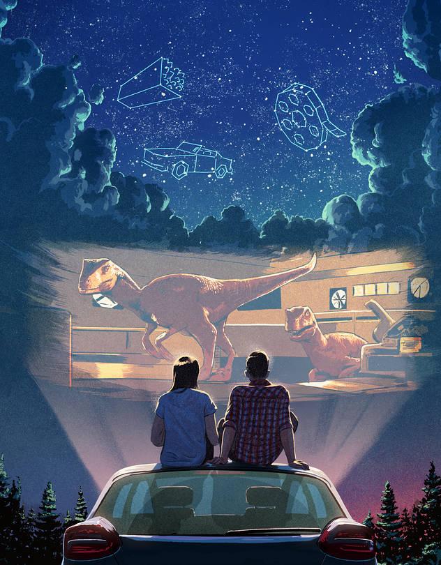 Sal de la rutina y vive una noche única en el Autocinema Platino Cinemex presentado por AT&T #CAMBIAELJUEGO - b3-gx177_drivei_fr_20200617120252