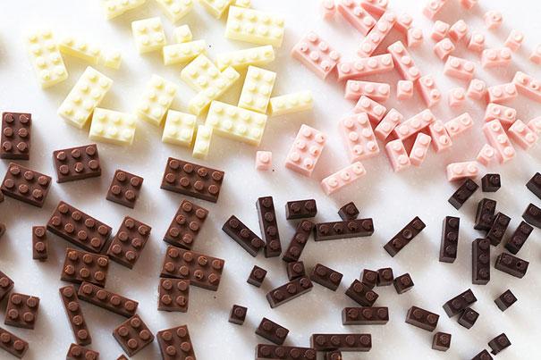 15 obras de arte hechas con chocolate - ladrillos-de-chocolate-15-obras-de-arte-hechas-con-chocolate