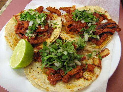 Costumbres en México que celebran la independencia - tacos
