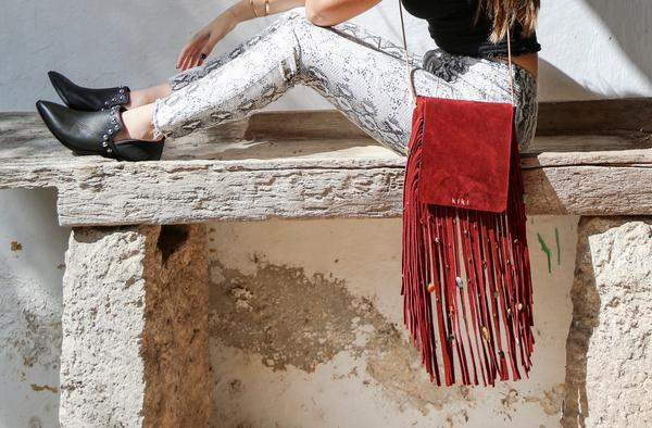 Kiki Boho: moda artesanal - leather-bag