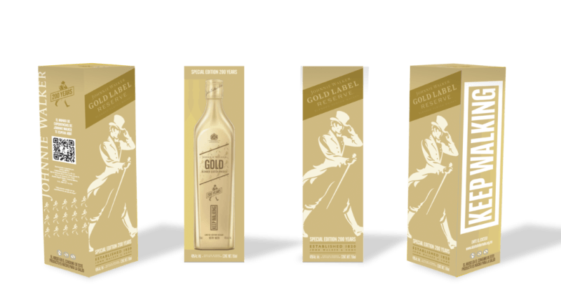 Un regalo inesperado, una cena - maridaje acompañada de Johnnie Walker Gold Label 200th - ibc-gold-200th_3
