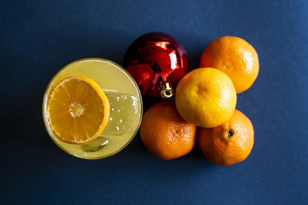 Los mejores drinks con Komo Atelier para tu cena de Navidad - Smoky Mandarin 3