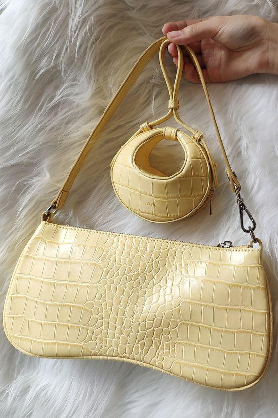 10 fashion trends para el 2021 - yellow-purse