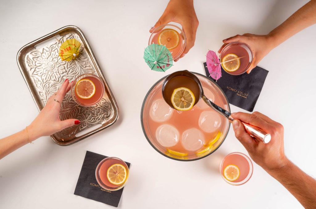 Happy hour con Komo Atelier: aprende a hacer un auténtico Pink Mamacita Punch - Portada Happy Hour con Komo Atelier aprende a hacer un auténtico Pink Mamacita Punch google amazon cocteleria google coctel como atelier barista bar drink gourmet google amazon ron
