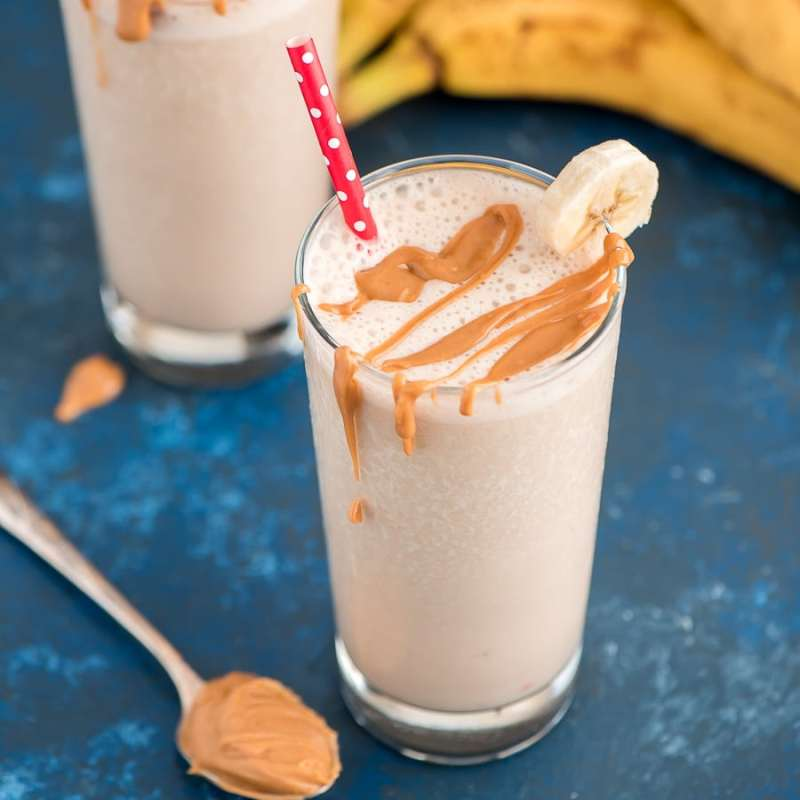 Los increíbles beneficios de la peanut butter y las mejores formas de consumirla - smoothie-7-increibles-beneficios-de-la-peanut-butter-y-la-mejor-forma-de-consumirla